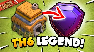 World Record for TH6 in Legend League!