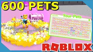 HOW POWERFUL IS 600 TIER 15 PETS IN ROBLOX PET SIMULATOR