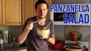 Panzanella Salad: Organic Vegan Recipe