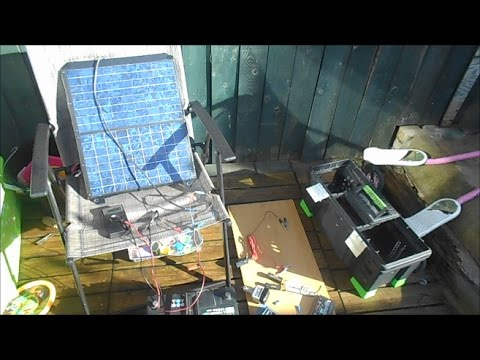 How to make a cheap Solar – powered generator.