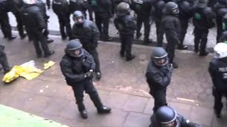 Hausbesetzung /- belebung, Polizeieinsatz Breite Straße Hamburg Altona, 11.05.2013