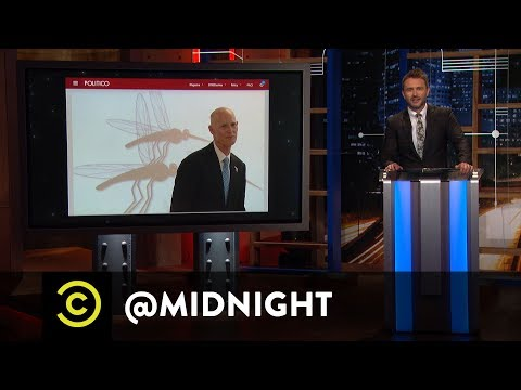 Pitbull for Governor of Florida - @midnight with Chris Hardwick