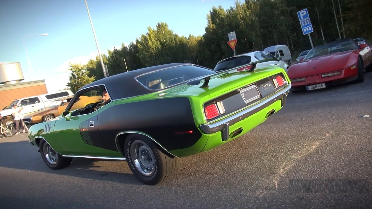 Plymouth Cuda Can A Muscle Car Sound Any Better Than These