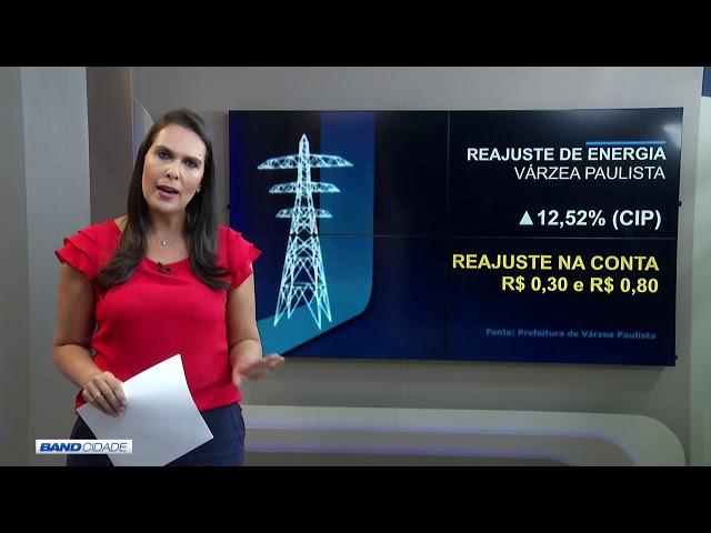 Várzea Paulista: correção sobre informação de reajuste de energia