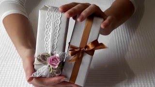 видео Как упаковать подарок? Идеи беспроигрышных вариантов