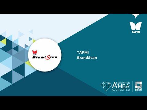 TAPMI   BrandScan