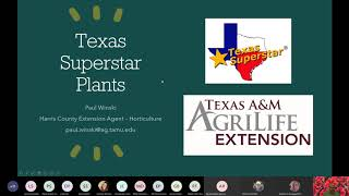 Texas Superstar Plants: Gardening on the Gulf Coast Series
