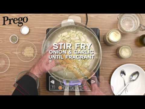 Prego Fettuccine Carbonara - 60secs Video Tutorial