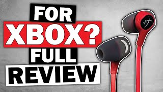 Earbuds for Xbox One 2019 - HyperX Cloud Earbuds Review