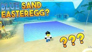 BLUE SAND EASTER EGG? | Treasure Hunt Simulator ROBLOX