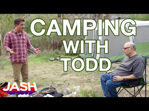 Camping With Todd Starring Todd Glass, Zach Galifianakis, Eddie Pepitone & Jon Dore