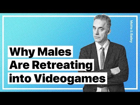 Jordan Peterson Explains Why Males Are Increasingly Retreating Into Videogames w/ Warren Farrell