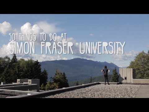 50 Things to do at SFU