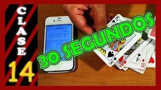 Toda la baraja en menos de 30 segundos - Cómo ganar en el Blackjack - CLASE 14