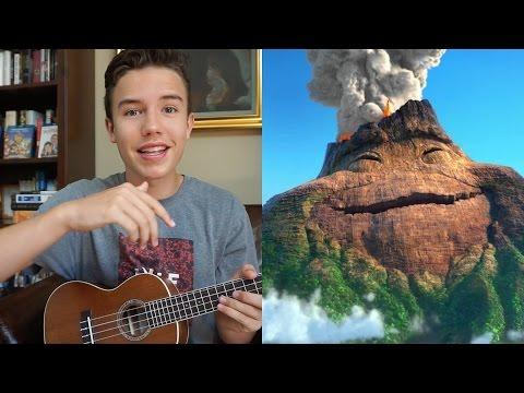 "Pixar's ""Lava"" Ukulele Tutorial - YouTube"