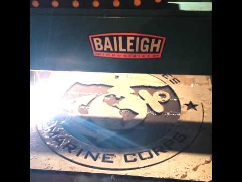 Baileigh Pt 22 Cnc Plasma Table In Action