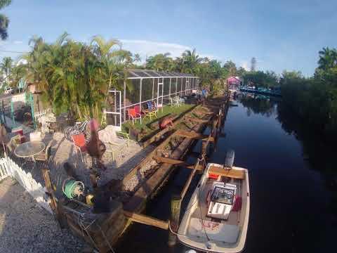 New Dock Construction: Day 2 - Angler's Inn Motel Matlacha, Florida
