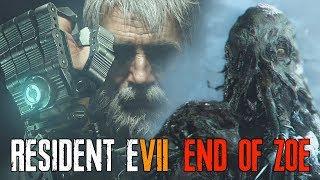 RESIDENT EVIL 7 End of Zoe DLC - Joe Vs Jack | All Jack Baker Boss Battles + Death Scenes
