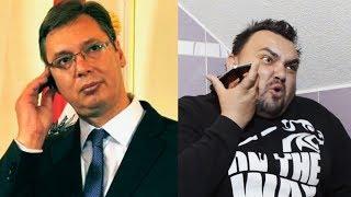 Omčo šprda Vučića na telefon