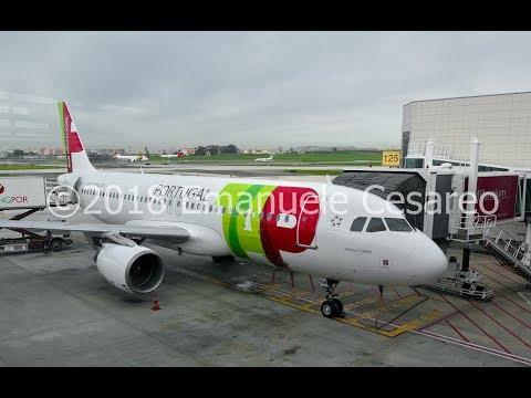 Trip report | TAP Air Portugal A320-214 | Rome Fiumicino (FCO) - Lisbon Portela (LIS)| Discount Eco
