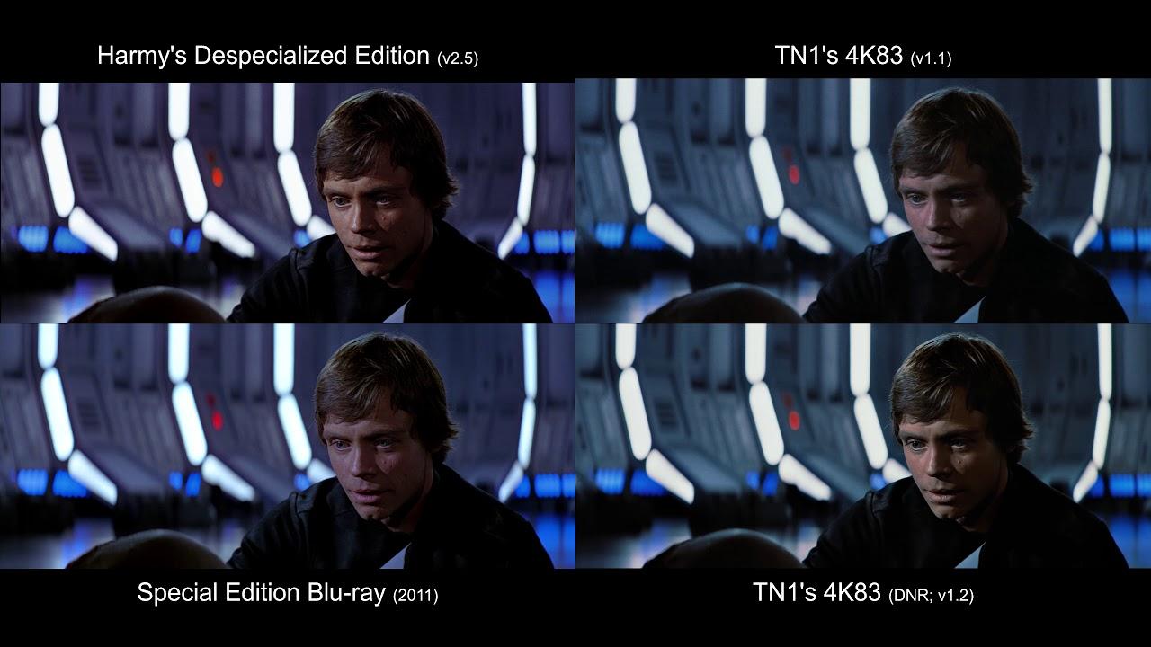 ORIGINAL Anakin's Death | Return of the Jedi (1983) [4K83, Despecialized,  Blu-ray]