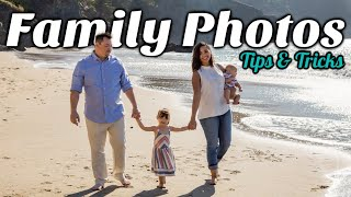 Family Photo Shoot Tips / China Beach Family Photo