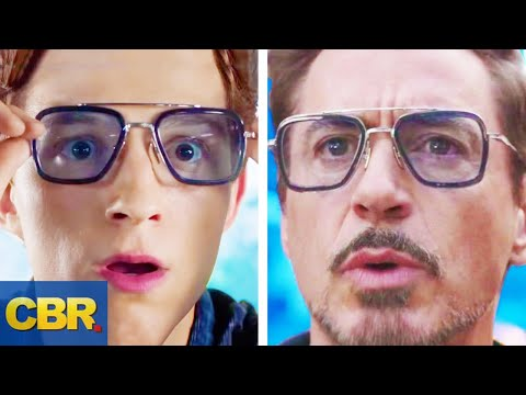 10 Similarities Between Peter Parker And Tony Stark