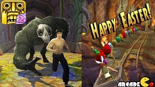 Temple Run 2 - EASTER UPDATE! Unlock Aerodynamic Bunny Ears Collect Easter Artifcats