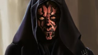 Darth Maul (Ray Park) - Speed Painting by Facundo Morello