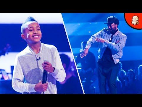 Lil' T 'Shutdown'   The Voice Kids UK