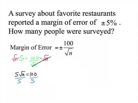 Find sample size given margin of error and confidence level alum.