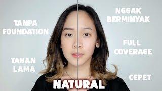 No Makeup Makeup (KULIT BERJERAWAT \u0026 BERMINYAK) - Almiranti Fira