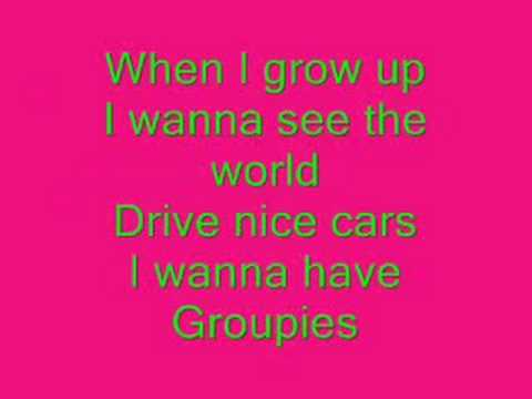 When I grow Up Lyrics.