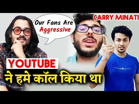 Bhuvan Bam OPENS What Happened After Carry Minati's Video Was Deleted | Youtuber Vs Tik Toker