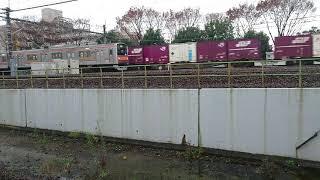 JR貨物EH500形電気機関車金太郎と武蔵野線205系