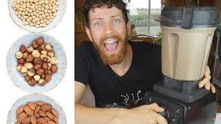 How to Make Soy Milk, Almond, & Chocolate Hazelnut Milk