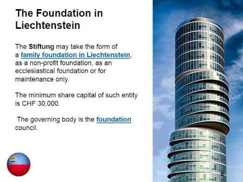 Types of Companies in Liechtenstein