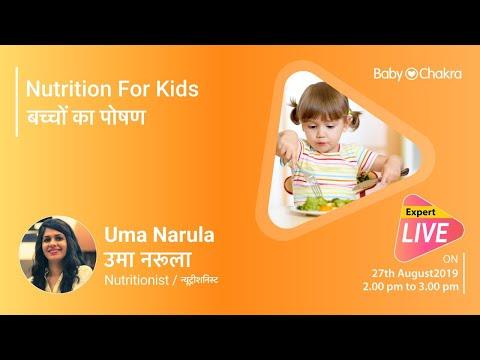 LIVE CHAT - Nutrition For Kids - BabyChakra