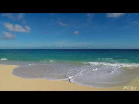 1 Hour Calming Ocean Waves Screensaver HD Relaxing Nature Video 60fps Study / Sleep / Relax