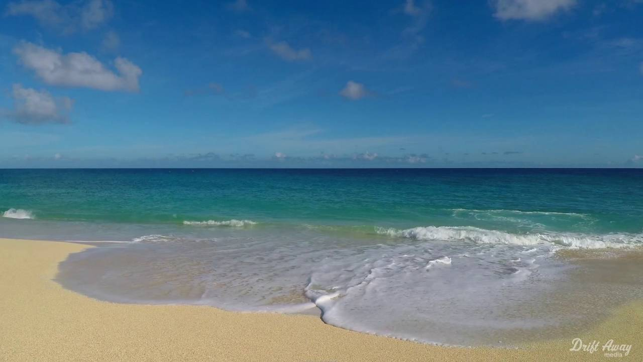 1 hour calming ocean waves screensaver hd relaxing nature video