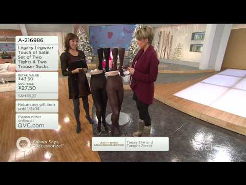 Karen G. and Models - Legs in Sheer Tights
