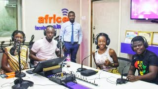 Vlog/Live on The Biggest Radio Station in Sierra leone!!/AfriRadio