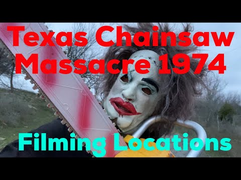 The ORIGINAL Texas Chainsaw Massacre 1974 All Filming Locations Then and Now |Inside the Gas Station