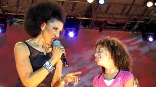 Nona Hendryx, Sweat (Going Through The Motions) (pt.2), Damrosch Park, NYC 7-30-10