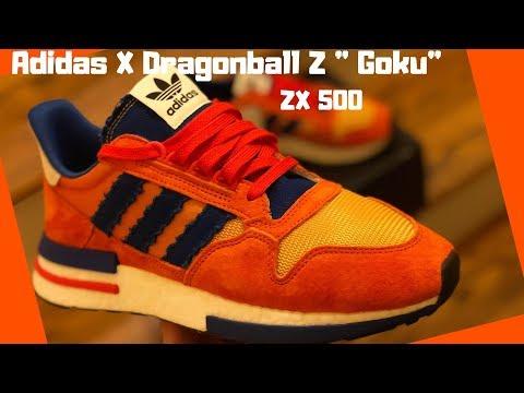 2eb7e34e92382 Adidas X Dragonball Z ZX500