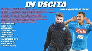 Calciomercato Napoli - Younes lascia il club azzurro. Soumarè e Basic per la mediana