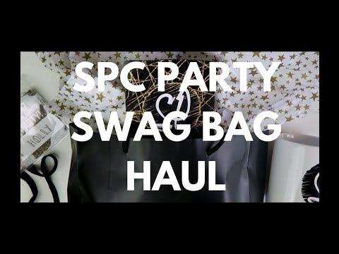 SCRIBBLEPRINTS CO PARTY SWAG BAG HAUL!!
