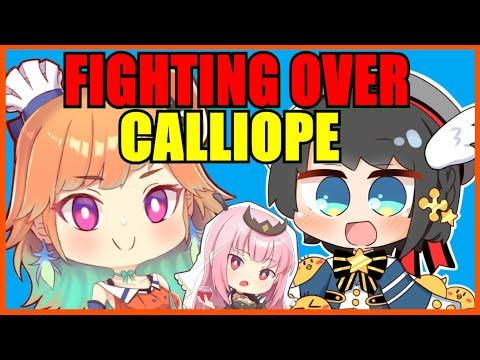 【Hololive】Subaru & Kiara: Fighting Over Calliope【Eng Sub】