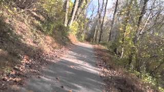 Riding The Grist Mill Trail In Avalon