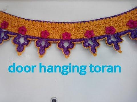 WOW!! beautiful door hanging toran making in hindi (सुंदर तोरण बनाना सीखिए )